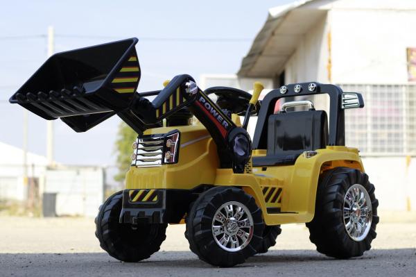 Excavator electric ZP1005 V12 STANDARD #Galben 1