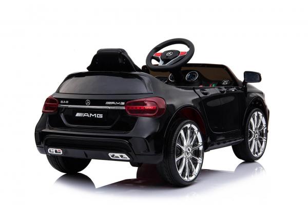 Kinderauto Mercedes GLA 45 2x30W STANDARD #Negru 5