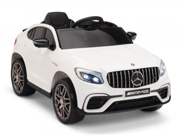 Masinuta electrica Mercedes GLC 63s 2x35W 12V STANDARD #Alb 0