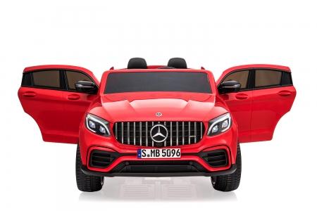 Masinuta electrica Mercedes GLC63s AMG 4x4 STANDARD #Rosu 0