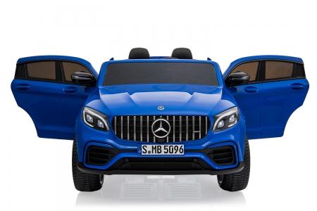 Masinuta electrica Mercedes GLC63s AMG 4x4 180W PREMIUM #Albastru 0
