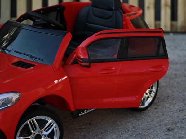 Masinuta electrica Mercedes GLE63S 2x22W 12V PREMIUM #Rosu 10