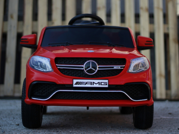 Masinuta electrica Mercedes GLE63S 2x22W 12V PREMIUM #Rosu 8