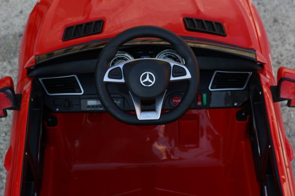 Masinuta electrica Mercedes GLE63S 2x22W 12V PREMIUM #Rosu 13