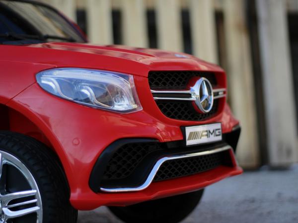 Masinuta electrica Mercedes GLE63S 2x22W 12V PREMIUM #Rosu 14