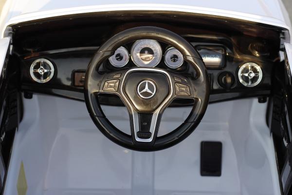 Masinuta electrica Mercedes GLK350 PREMIUM 2x35W 2X6V #Alb 5
