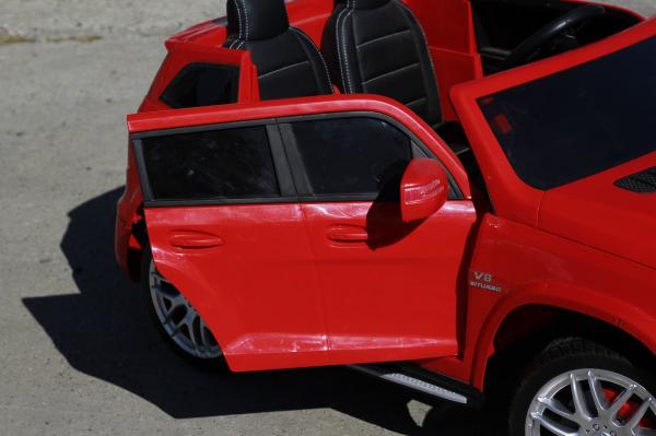 Masinuta electrica Mercedes GLS63 AMG 4x4 PREMIUM 24V #Rosu 4