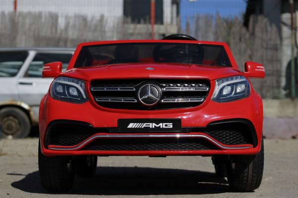 Masinuta electrica Mercedes GLS63 AMG 4x4 PREMIUM 24V #Rosu 1