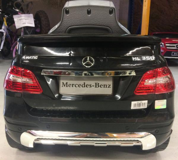 Masinuta electrica copii 2-4 ani Mercedes ML, neagra 5