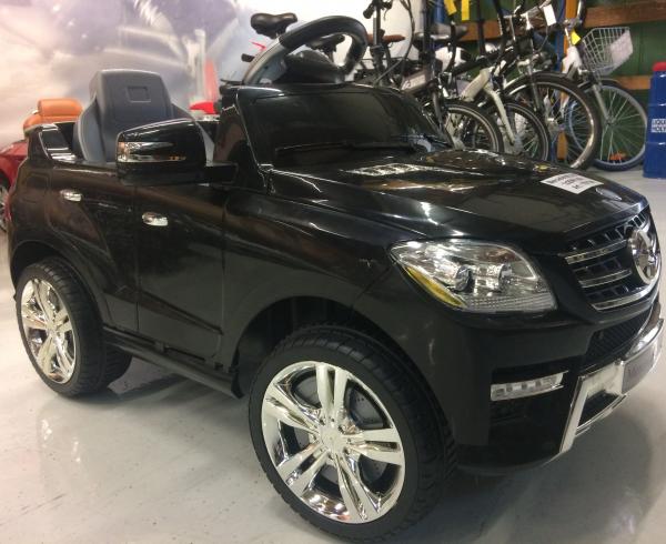 Masinuta electrica copii 2-4 ani Mercedes ML, neagra 3