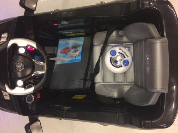 Masinuta electrica copii 2-4 ani Mercedes ML, neagra 8