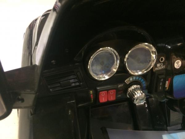 Masinuta electrica copii 2-4 ani Mercedes ML, neagra 7