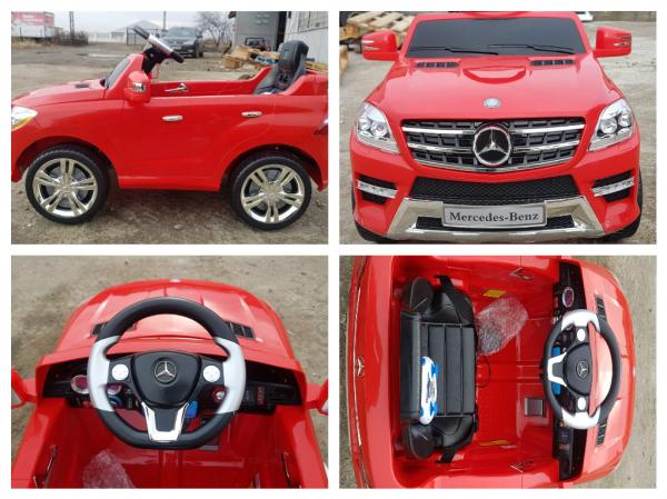 Kinderauto Mercedes ML350 STANDARD 1x25W #Rosu 5