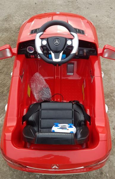 Kinderauto Mercedes ML350 STANDARD 1x25W #Rosu 7