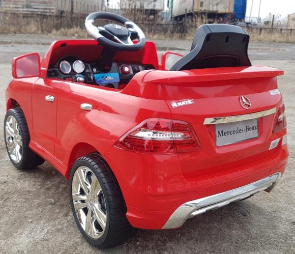 Kinderauto Mercedes ML350 STANDARD 1x25W #Rosu 3