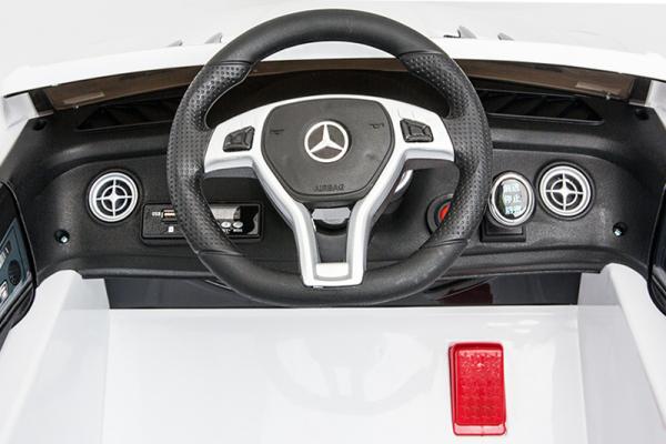 Masinuta electrica Mercedes SL63 AMG STANDARD 12V #Alb 3