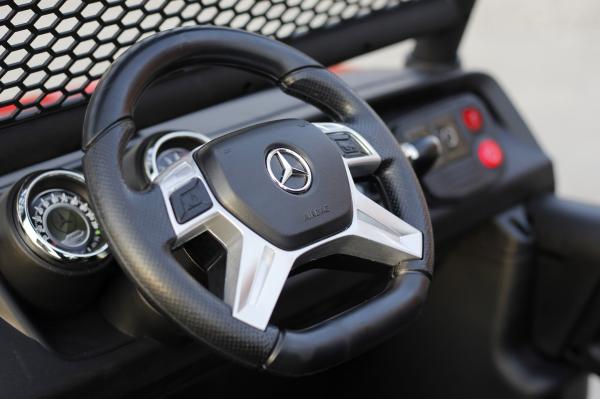Kinderauto Mercedes UNIMOG STANDARD 2x45W 12V #Rosu 10
