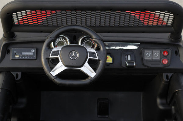 Kinderauto Mercedes UNIMOG STANDARD 2x45W 12V #Rosu 5