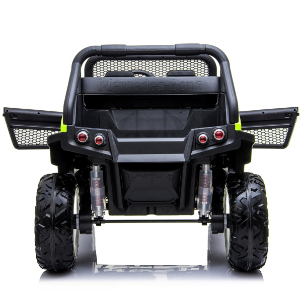 Masinuta electrica Mercedes UNIMOG 4x4 PREMIUM #Verde 6
