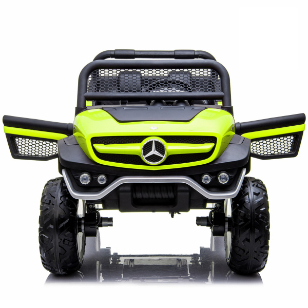 Masinuta electrica Mercedes UNIMOG 4x4 PREMIUM #Verde 4