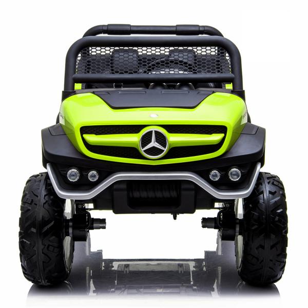 Masinuta electrica Mercedes UNIMOG 4x4 PREMIUM #Verde 1