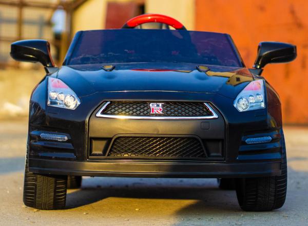 Masinuta electrica Nissan GTR R35 STANDARD 2x 35W 12V #Negru 1