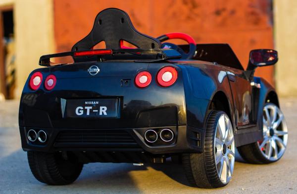 Masinuta electrica Nissan GTR R35 STANDARD 2x 35W 12V #Negru 4