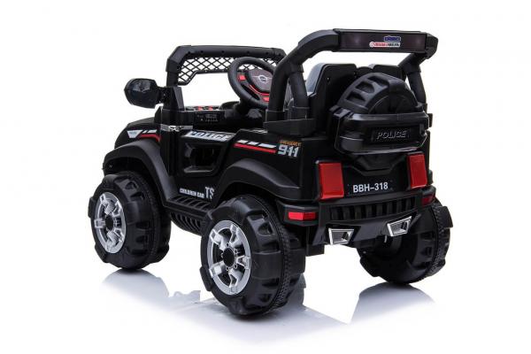 Masinuta electrica POLICE BBH-318 2x35W STANDARD #Negru 1