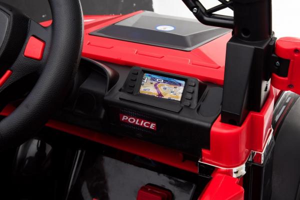 Masinuta electrica POLICE BBH-318 2x35W STANDARD #Rosu 8