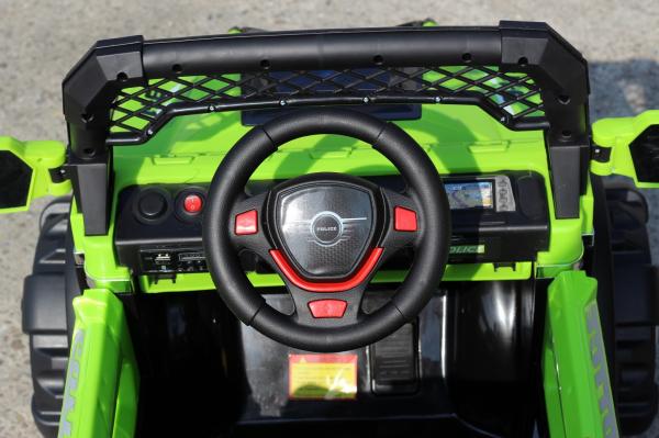 Kinderauto POLICE BBH-318 2x35W STANDARD #Verde 7