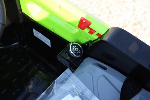 Kinderauto POLICE BBH-318 2x35W STANDARD #Verde 9