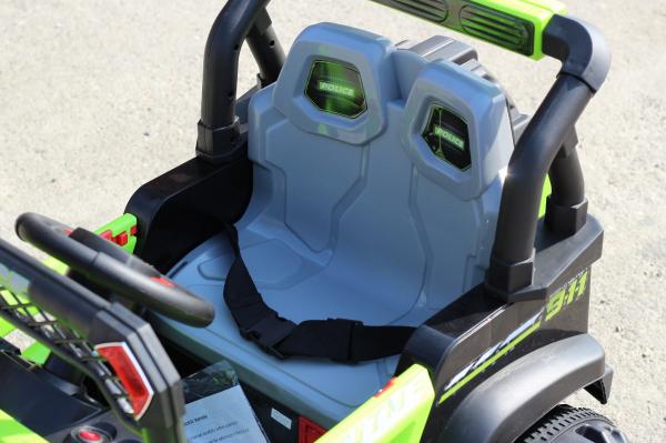 Kinderauto POLICE BBH-318 2x35W STANDARD #Verde 10
