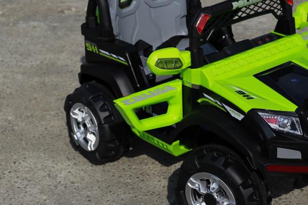 Masinuta electrica POLICE BBH-318 2x35W STANDARD #Verde 4