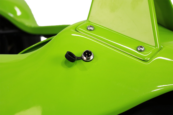 Masinuta electrica RAZER GT 48V 1000W cu 2 viteze #Verde 10