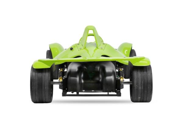 Masinuta electrica RAZER GT 48V 1000W cu 2 viteze #Verde 4