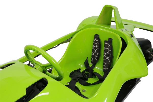 Masinuta electrica RAZER GT 48V 1000W cu 2 viteze #Verde 6