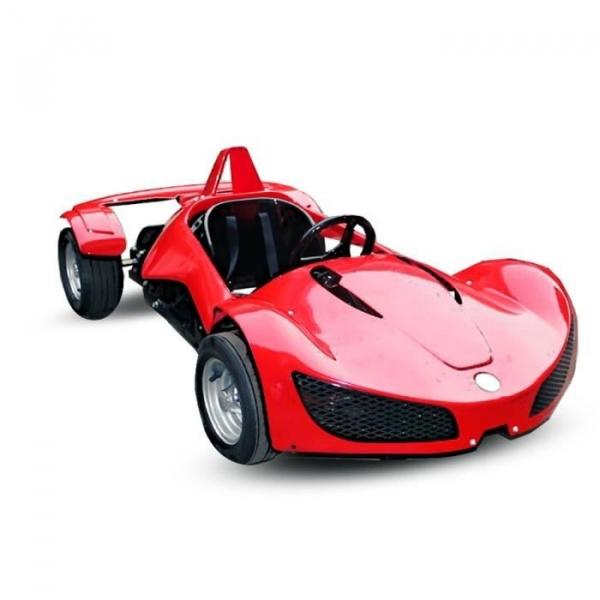 Masinuta electrica RAZER GT 48V 1000W cu 2 viteze #Rosu 0