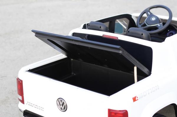 Masinuta electrica copii 2-6 ani VW Amarok alba [4]
