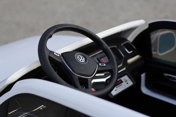 Masinuta electrica copii 2-6 ani VW Amarok alba [8]