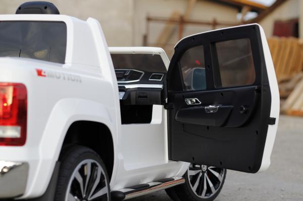 Masinuta electrica copii 2-6 ani VW Amarok alba [5]