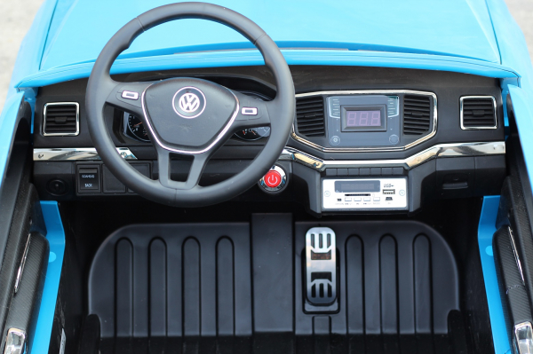 Masinuta electrica VW Amarok Pickup PREMIUM #Albastru 10