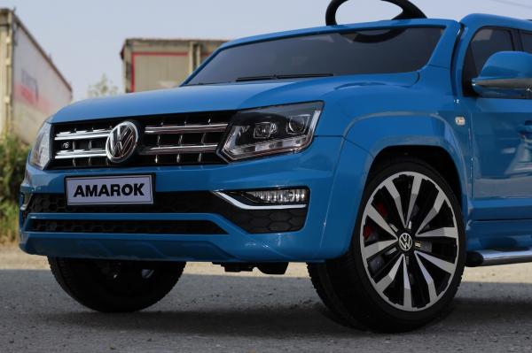 Masinuta electrica VW Amarok Pickup PREMIUM #Albastru 7