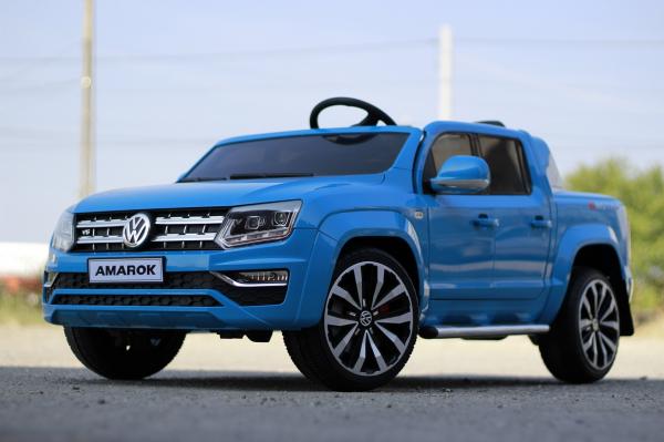 Masinuta electrica VW Amarok Pickup PREMIUM #Albastru 2
