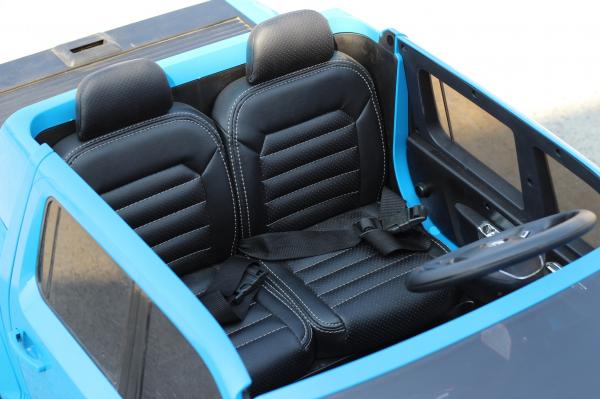 Masinuta electrica VW Amarok Pickup PREMIUM #Albastru 8