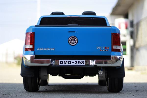 Masinuta electrica VW Amarok Pickup PREMIUM #Albastru 4
