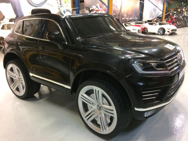 Masinuta electrica VW Touareg CU ROTI MOI 2x 35W 12V #Negru 2