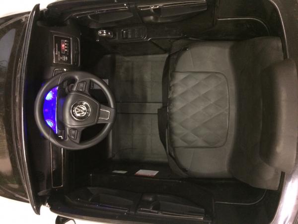 Masinuta electrica VW Touareg CU ROTI MOI 2x 35W 12V #Negru 10