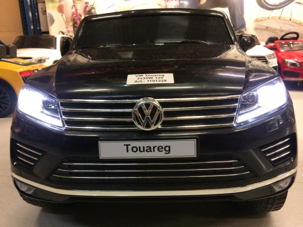 Masinuta electrica VW Touareg CU ROTI MOI 2x 35W 12V #Negru 4
