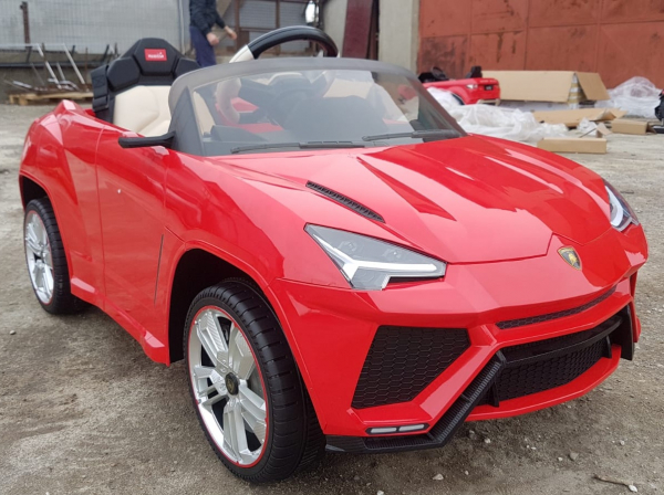Masinuta electrica copii 2-6 ani Lamborghini Urus, rosu [6]