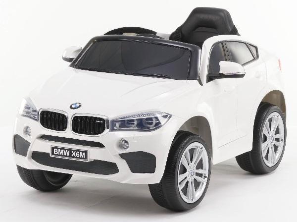 Masinuta electrica BMW X6M 2x35W 12V PREMIUM #Alb 0